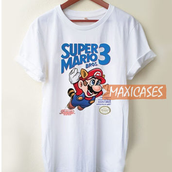 Super Mario Bros 3 T Shirt Women Men And Youth Size S to 3XL