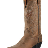 Ariat Women's Heritage Western J Toe Boot - Distressed Brown