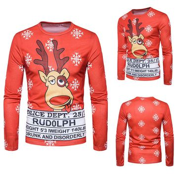 Ugly Rudolph Xmas Sweater