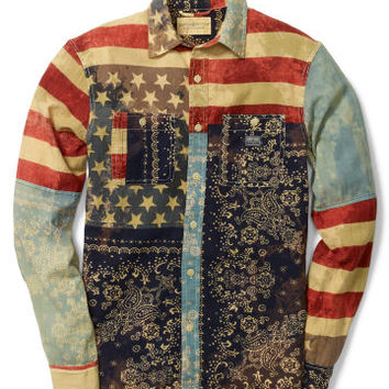 WARD AMERICANA COTTON SHIRT