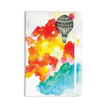 "Sonal Nathwani ""Come Away With Me"" Red Orange Everything Notebook"