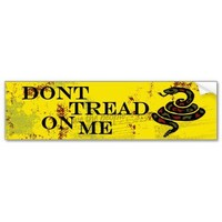 Dont Tread on Me - Gadsden Flag Bumper Stickers from Zazzle.com