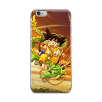 Dragon Ball Kid Goku DBZ iPhone 4 4s 5 5s 5C 6 6s 6 Plus 6s Plus 7 & 7 Plus Case