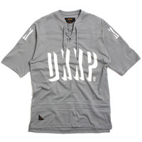 Messier Shortsleeve Hockey Jersey Grey