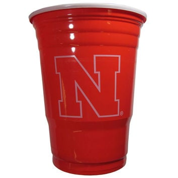 Nebraska Cornhuskers Plastic Game Day Cups