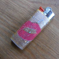 Naughty Lighter 'Kiss My Ass' by BFrankDesigns on Etsy