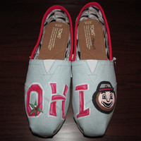 Ohio State University Custom Toms