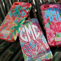Lilly Pulitzer Monogrammed Phone Cases (Iphone 5/5S)