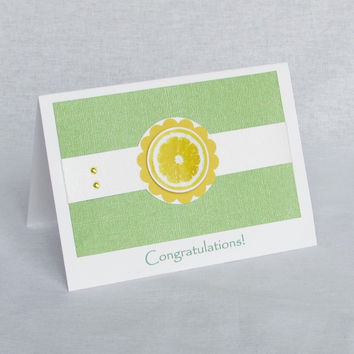 Greeting Card - Lemon and Lime