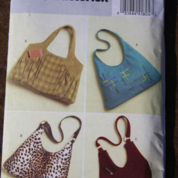 Butterick #B5109 Sewing Pattern Uncut Purses