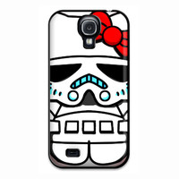 Hello Kitty Stormtrooper Samsung Galaxy S4 Case