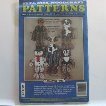 Wood Craft Ragamuffin Patterns by the Winfield Collection