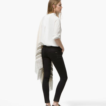 BLACK SKINNY JEANS - View all - Denim - WOMEN - España (Excepto Canarias)/Spain (except the Canary Islands)