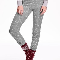 Old Navy Patterned Waffle Knit Leggings