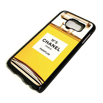 CHANEL PARFUM Samsung Galaxy S3 S4 S5 S6 Edge, Mini, Note 1 2 3 4, Tab Case Cover