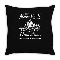 wild adventure Throw Pillow