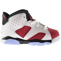 qiyif Toddler Air Jordan 6 Retro Carmine
