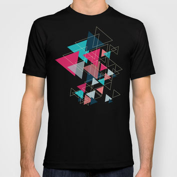 Triangle Pattern T-shirt by Ashley Hillman