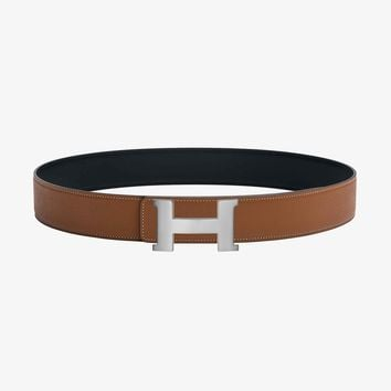 Constance 2 belt buckle & Leather strap 42 mm