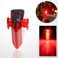 5 LED Bicycle Safety Tail Flashlight Waterproof Lamp Back Bike Light Night Safety Taillight Bicycle Accessories
