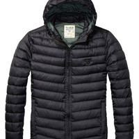 Basic Hooded Quilted Jacket - Scotch & Soda