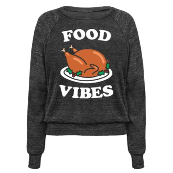 FOOD VIBES (WHITE) PULLOVERS