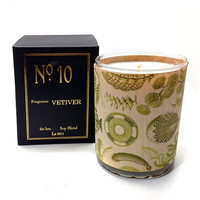 Wood Wrapped Candle No. 10 Vetiver