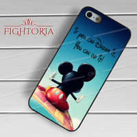 Quotes Mickey Mouse Walt Disney - zFzF for  iPhone 6S case, iPhone 5s case, iPhone 6 case, iPhone 4S, Samsung S6 Edge