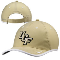UCF Knights Nike 2014 Coaches Performance Adjustable Hat – Gold