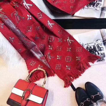 Louis Vuitton Woman Accessories Cape Scarf Scarves