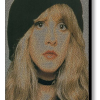 Stevie Nicks Edge of Seventeen Song Lyrics Mosaic Print Limited Edition
