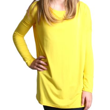 Buttercup Piko Kids Long Sleeve Top