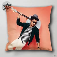 bruno mars Pillow Case, Chusion Cover ( 1 or 2 Side Print With Size 16, 18, 20, 26, 30, 36 inch )