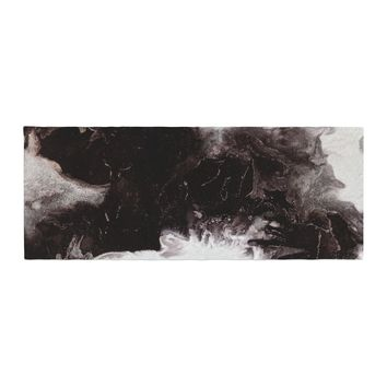 """Claire Day """"Underneath"""" Black Painting Bed Runner"""