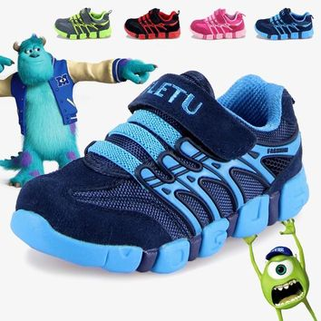 Jogging Children Shoes Girl Sneakers New Shildren Shoes Walking Volleyball Sports Shoes Outdoor Boy Genuine Leather Shoes Tennis