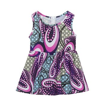 Right Away Printed Dress for Her