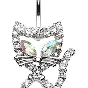 Here Kitty Kitty Belly Button Ring