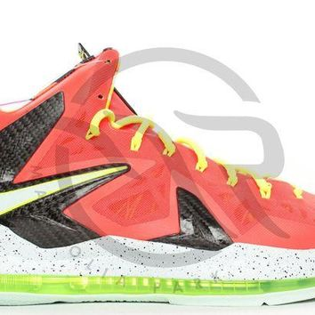 LMFUX5 LEBRON 10 P.S. ELITE - BRIGHT CRIMSON
