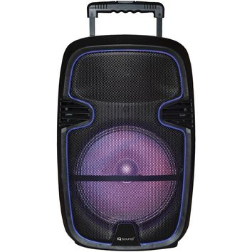 "Iq Sound 12"" Tailgate Party Dj Bluetooth Speaker"