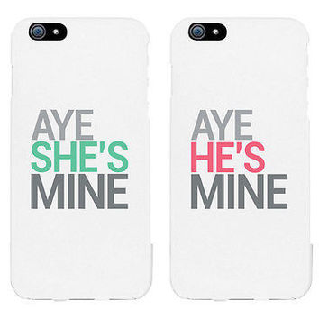 Aye Couple Phone Cases - iPhone 4 5 5C 6 6+, Galaxy S3 S4 S5, LG G3, HTC One M8