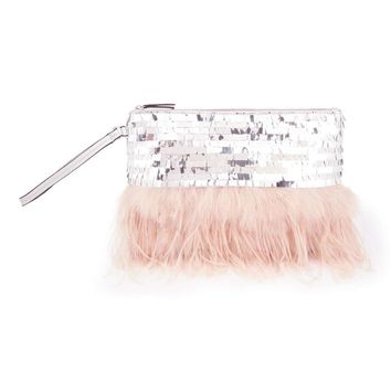 Feather Clutch Bag | Missselfridge
