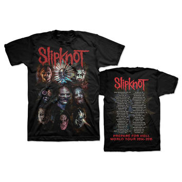 Slipknot Oxidized PFH Tour T-Shirt