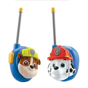 Paw Patrol Marshall & Rubble Walkie Talkies