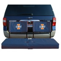 Illinois Fighting Illini Tailgate Hitch Seat Cover - OnlineSports.com