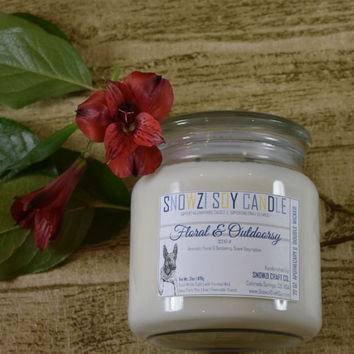 18oz Candle - Fresh & Floral Scents