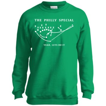 The Philly Special Let's Do It Youth Crewneck Sweatshirt