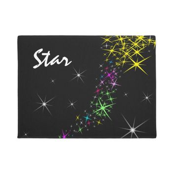 Christmas Star Doormat