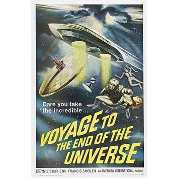 "Voyage To The End Of The Universe poster 24""x36"""