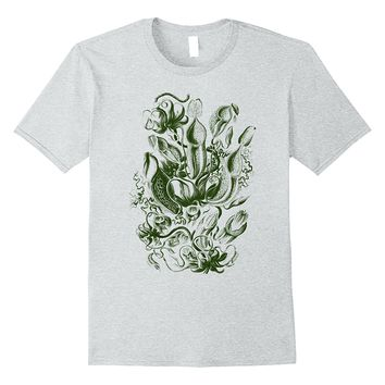 Ernst Haeckel Nepenthaceae Pitcher Plants Tee T-shirt