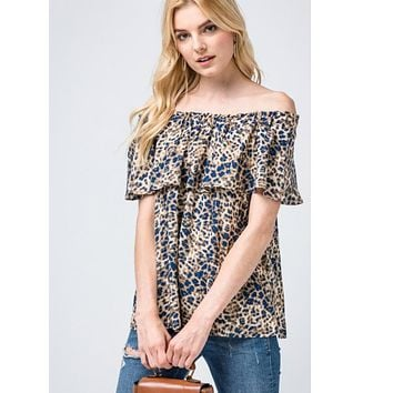 Give Me One Reason Leopard Top